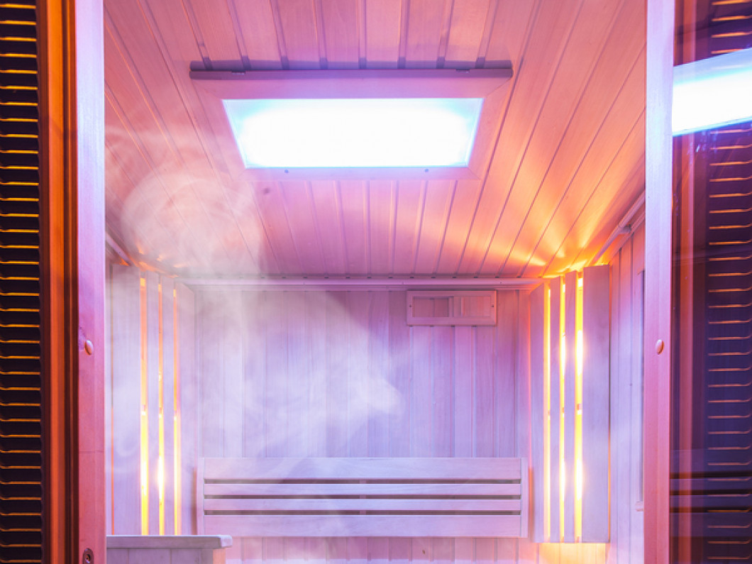 Sweat Out Toxins in a Relaxing Sauna